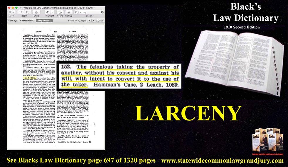 Larceny Definition